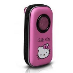 Кейс музыкальный с динамиком для смартфонов и iPhone Hello Kitty (розовый)
