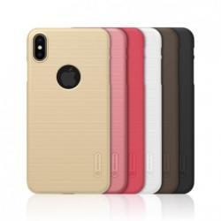 Чехол для телефона Nillkin Super Frosted, для Apple iPhone XS Max, цвет золотой