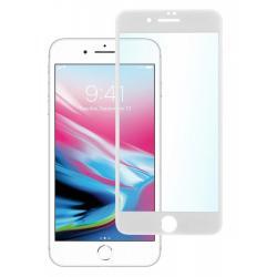 Защитное стекло для телефона skinBOX. 3D full glue, для Apple iPhone 7+/8+, цвет белый