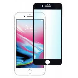 Защитное стекло для телефона skinBOX. 3D full glue, для Apple iPhone 7+/8+, цвет черный