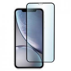 Защитное стекло для телефона skinBOX. 1 side full screen, для Apple iPhone XR/11, цвет черный