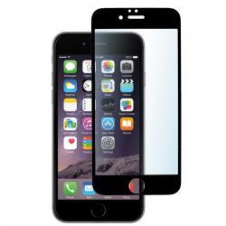 Защитное стекло для телефона skinBOX. 1 side full screen, для Apple Iphone 6/6S, цвет черный