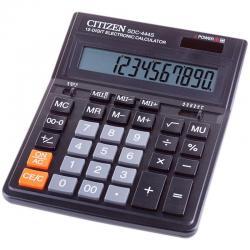 Калькулятор настольный Citizen, SDC-444S, 12 разрядов