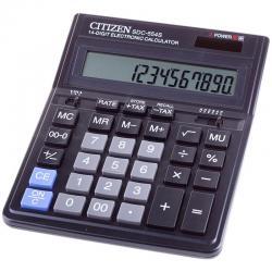 Калькулятор настольный Citizen, SDC-554S, 14 разрядов