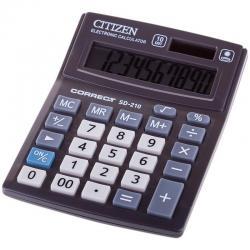Калькулятор настольный CITIZEN Correct CMB1001BK, 10разр, черн.