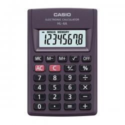 Калькулятор Casio HL-4A, карманный, 8 разрядов