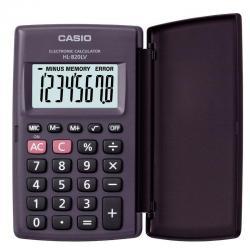 Калькулятор карманный с крышкой HL-820LV, 8 разрядов