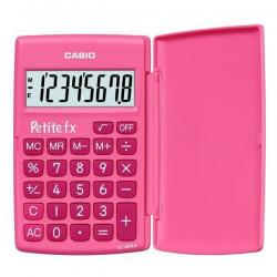 Калькулятор карманный с крышкой LC-401LV-PK, 8 разрядов, розовый