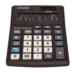 Калькулятор Citizen Business Line CMB1201BK, настольный, 12 разрядов, двойное питание