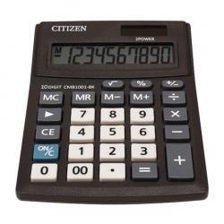 Калькулятор Business Line CMB1001-BK, настольный, 10 разрядов, двойное питание, 100x136 мм