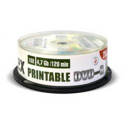 Диск DVD+R, 4.7 Гб (25 штук)