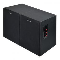 Комплект акустики Hyundai. H-HA160 2.0, 55 Вт, черный (в комплекте 2 колонки)