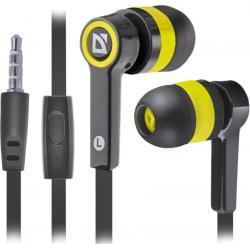 Гарнитура для смартфонов Pulse 420, черный/желтый