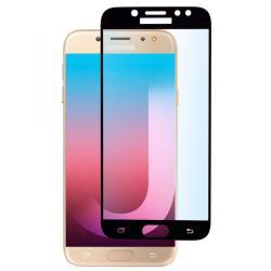 Защитное стекло для телефона skinBOX. 1 side full screen, для Samsung Galaxy J7 Pro, цвет черный
