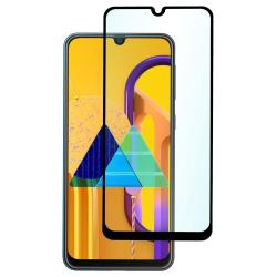 Защитное стекло для телефона skinBOX. 1 side full screen, для Samsung Galaxy M30S, цвет черный