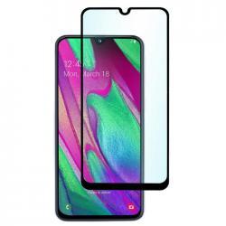 Защитное стекло для телефона skinBOX. 1 side full screen, для Samsung GalaxyA40S, цвет черный