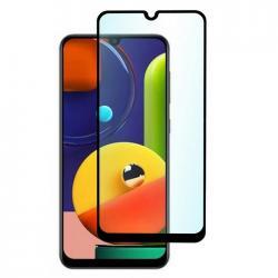 Защитное стекло для телефона skinBOX. 1 side full screen, для Samsung GalaxyA50S, цвет черный