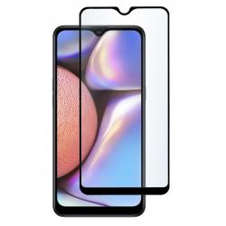 Защитное стекло для телефона skinBOX. 1 side full screen, для Samsung GalaxyA10E, цвет черный