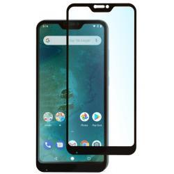 Защитное стекло для телефона skinBOX. 1 side full screen, для Xiaomi A2 Lite/6 PRO, цвет белый