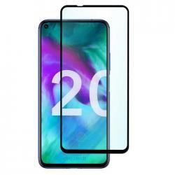 Защитное стекло для телефона skinBOX. 1 side full screen, для Huawei Honor 20, цвет черный