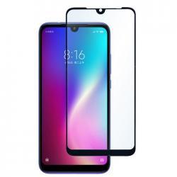 Защитное стекло для телефона skinBOX. 1 side full screen, для Xiaomi Redmi 7, цвет черный