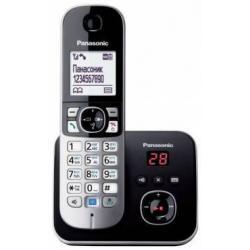 Радиотелефон Dect Panasonic KX-TG6821RUM (серый металлик)