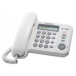Телефон проводной Panasonic KX-TS2356RUW (белый)