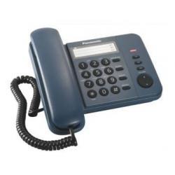 Телефон проводной Panasonic KX-TS2352RUC (синий)