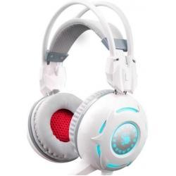 Наушники с микрофоном A4 Tech Bloody G300, цвет белый