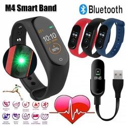 Фитнес-браслет M4 smart band, цвет красный